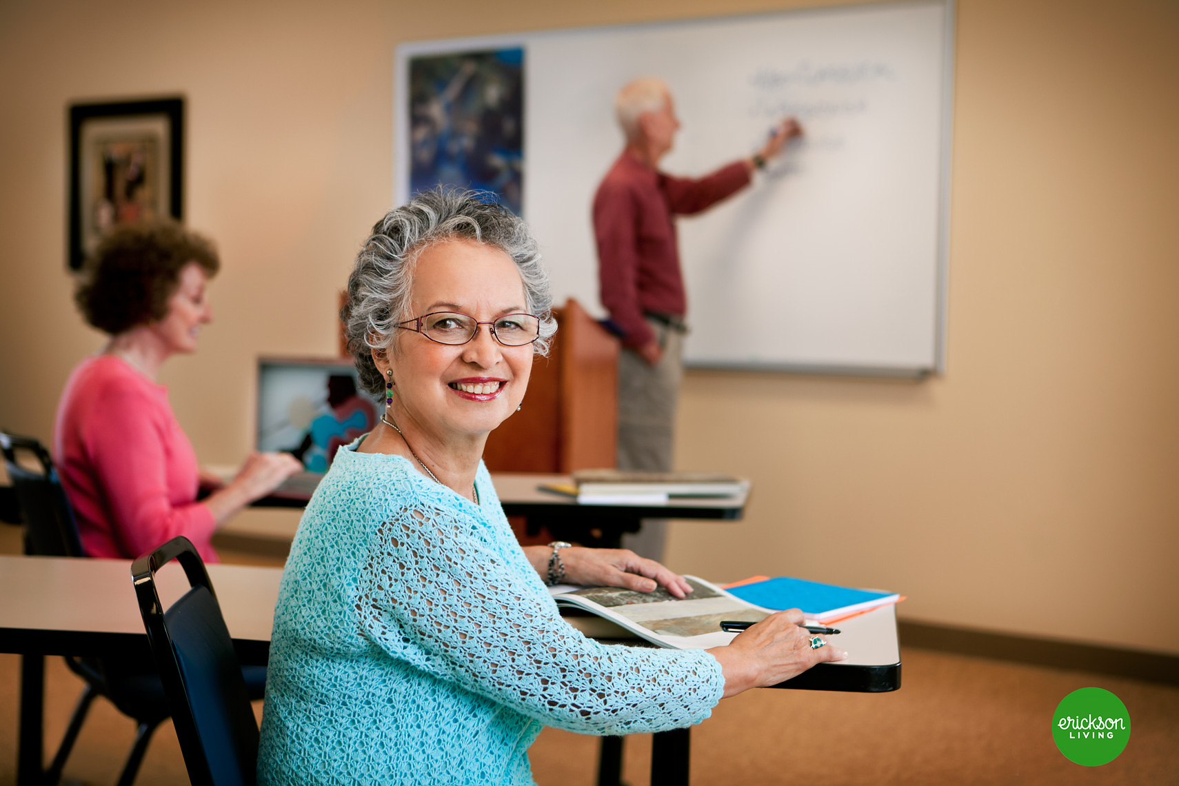 lifestyle-portrait-for-senior-living-center-in-tallgrass-classroom